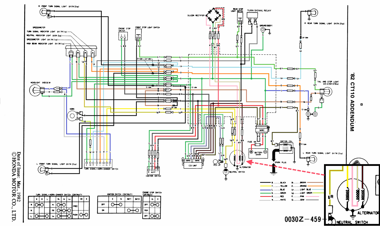 honda ex dream wiring diagram honda wiring diagrams online